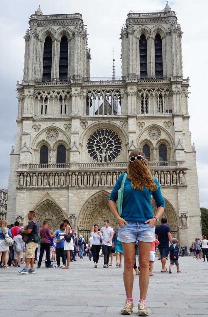 Choubaka à la cathédrale Notre-Dame de Paris