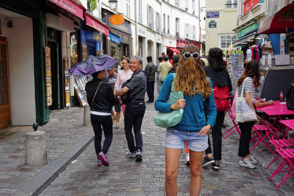 Choubaka à Montmartre