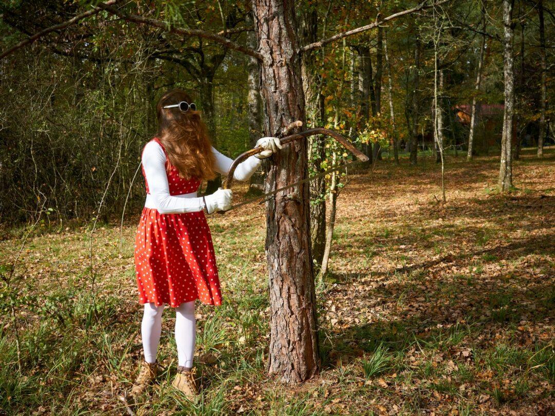 Choubaka scie une branche