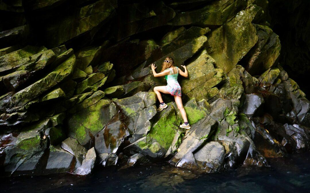 Le saut d'eau de Matouba