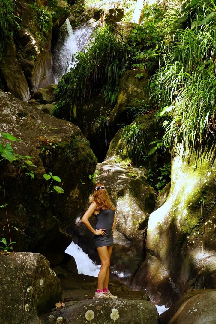 La cascade Vauchelet à Saint-Claude