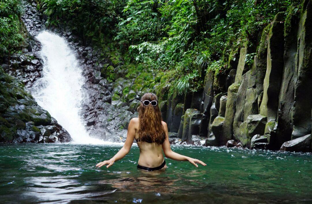 Cascade de la Ravine Paradis à Vieux-Habitants
