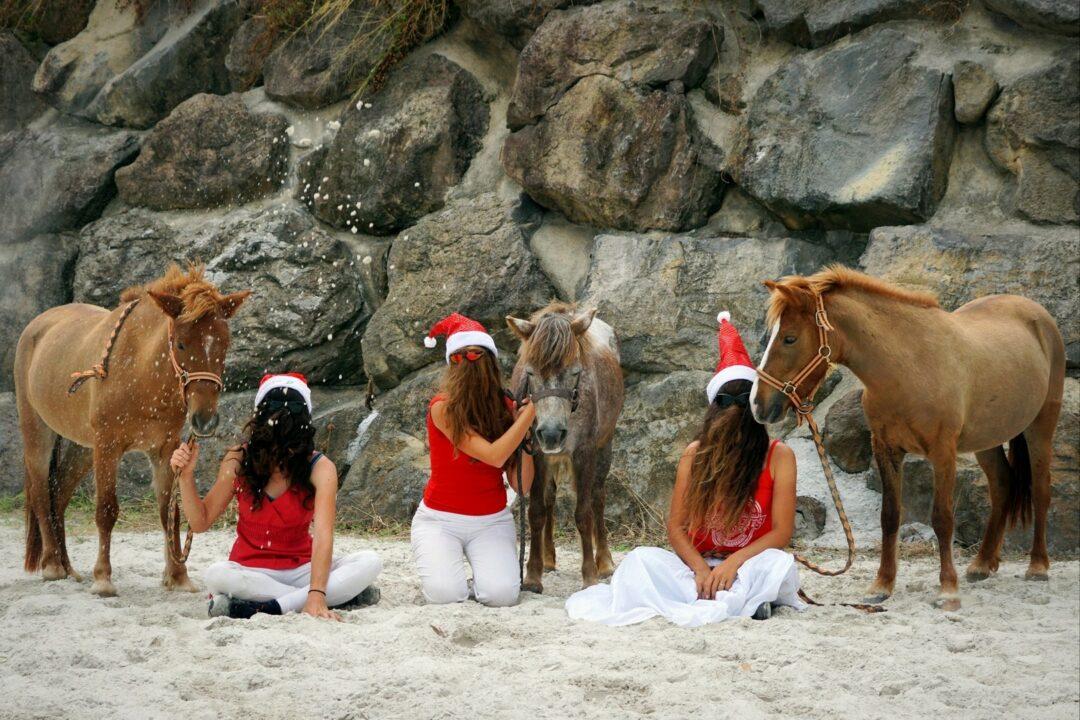 Choubaka fait du poney