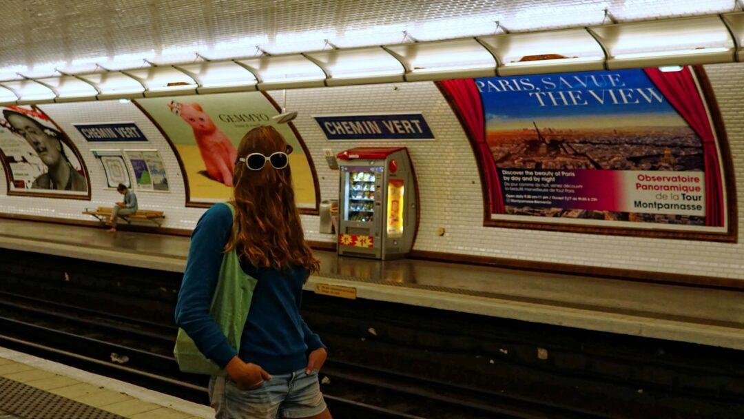 Choubaka dans le métro de Paris