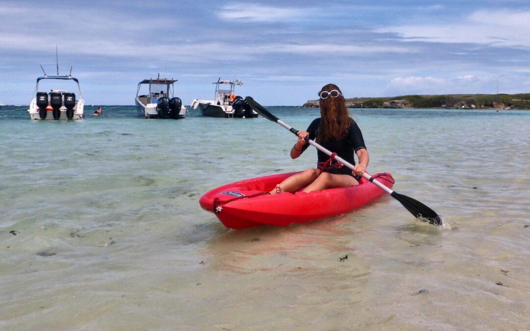 Canoë-kayak à Petite-Terre
