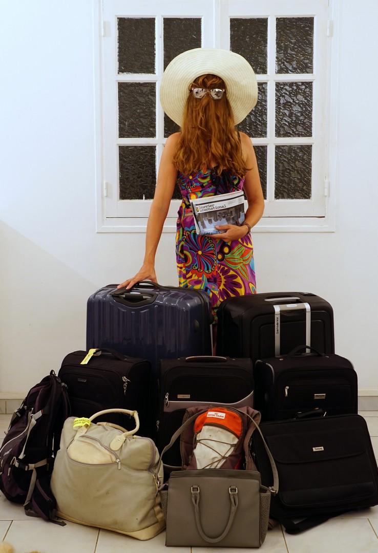 Choubaka part en vacances quelques jours, en emportant que le strict nécessaire.