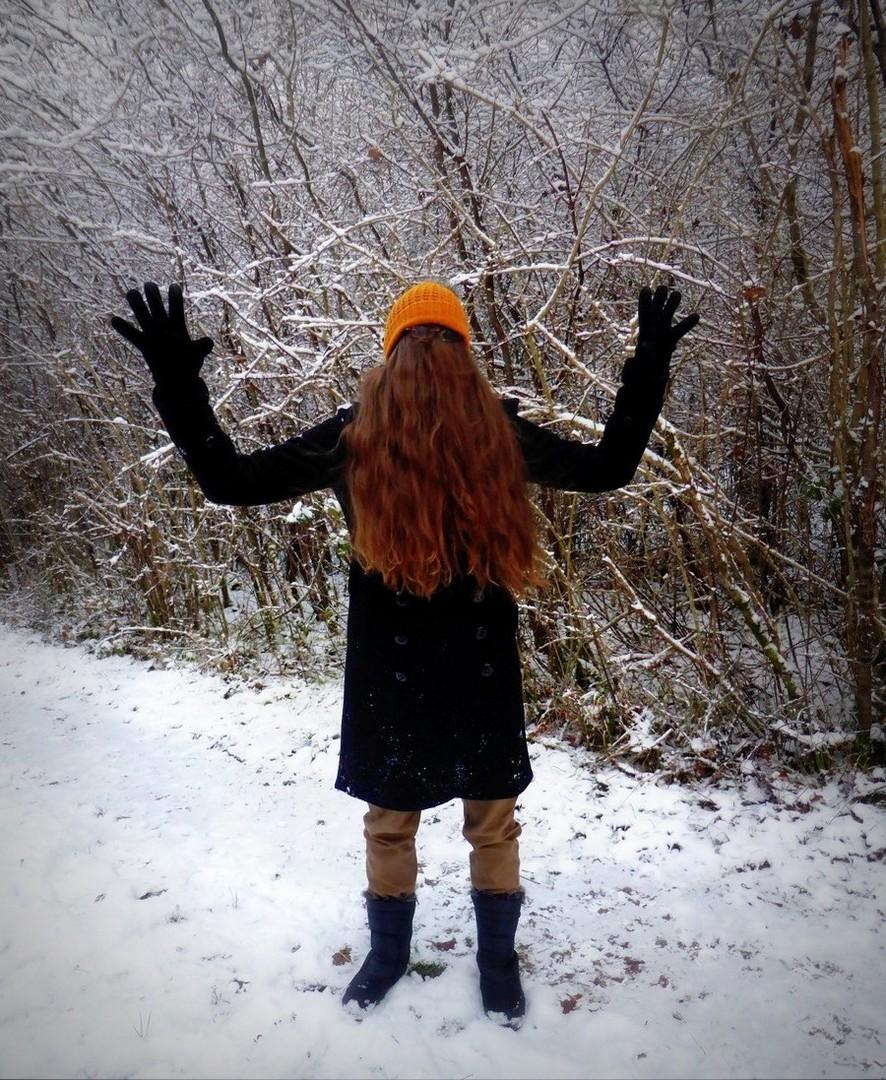 Choubaka effraie les promeneurs dans les bois de Lorraine en hiver