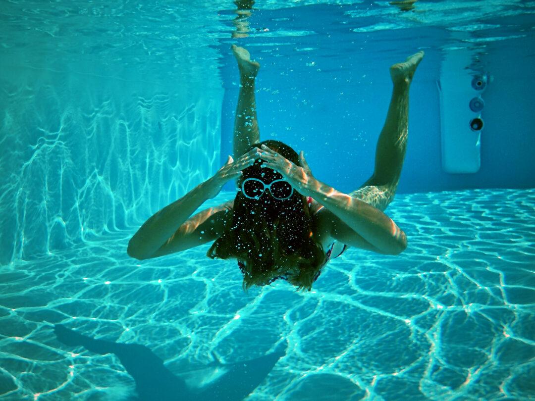 Choubaka sous l'eau
