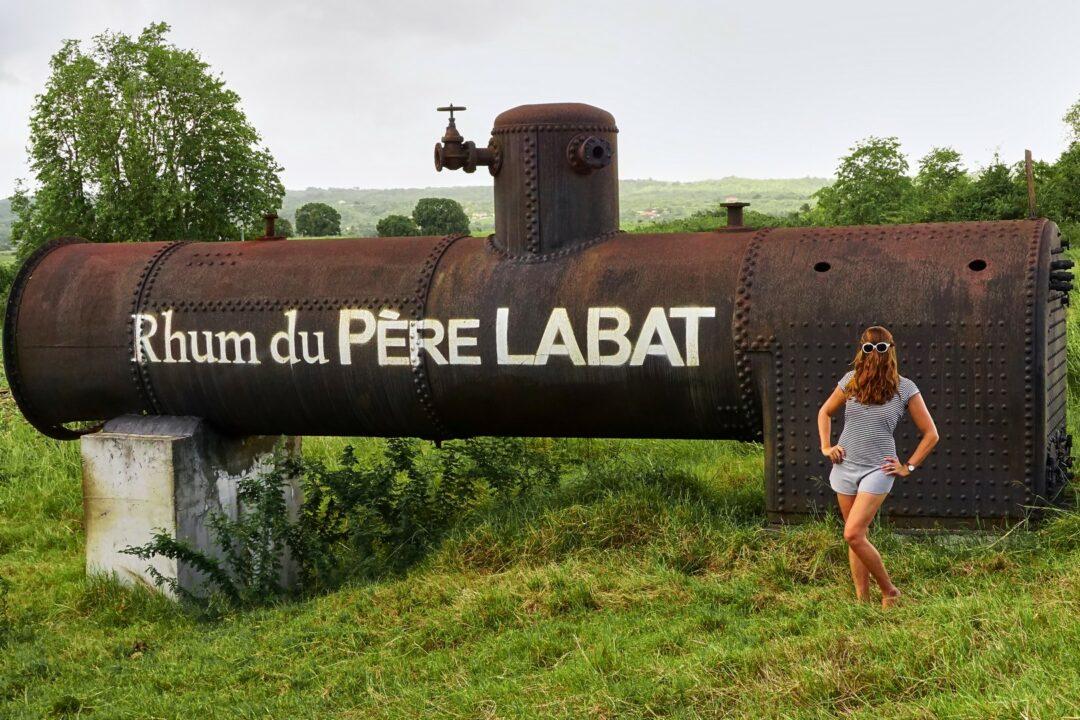 Choubaka à la distillerie du Père Labat