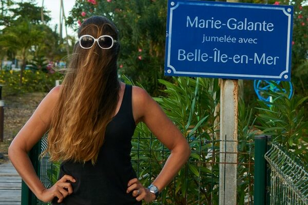 Choubaka visits Marie-Galante