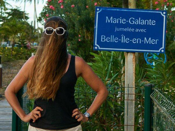 Choubaka visite Marie-Galante