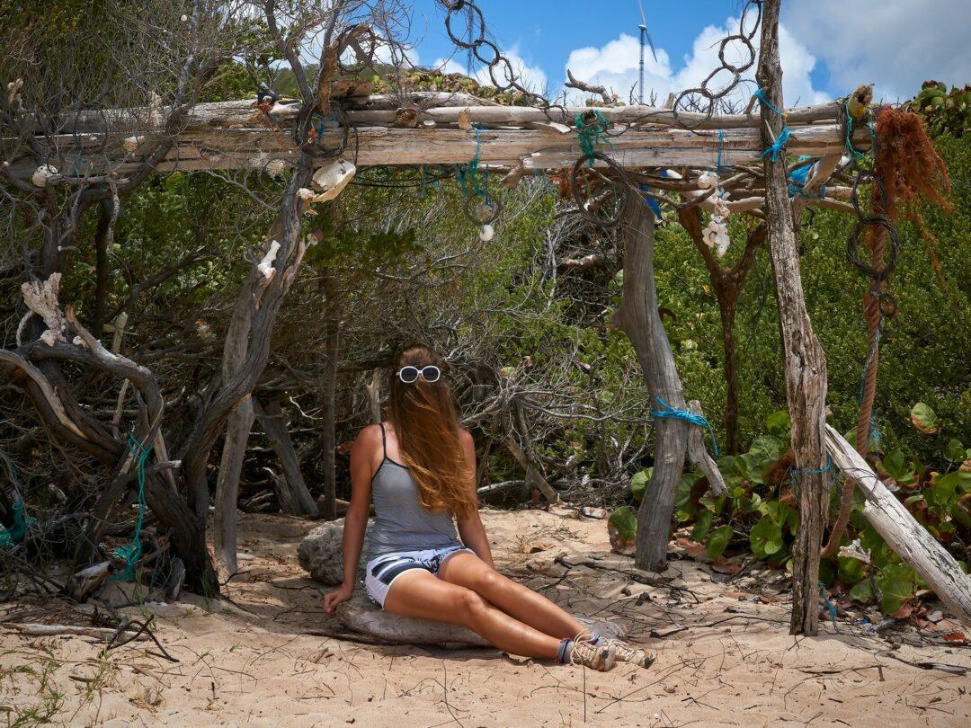 Choubaka à la plage de l'Anse Feuillard