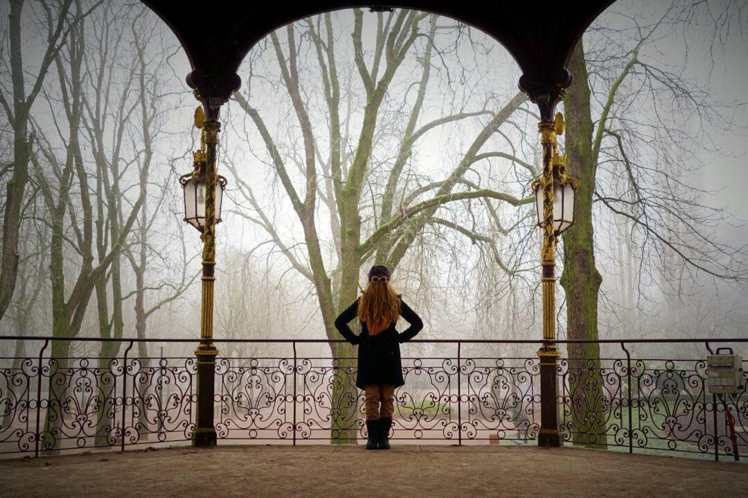 Choubaka au kiosque Mozart du parc de la Pépinière