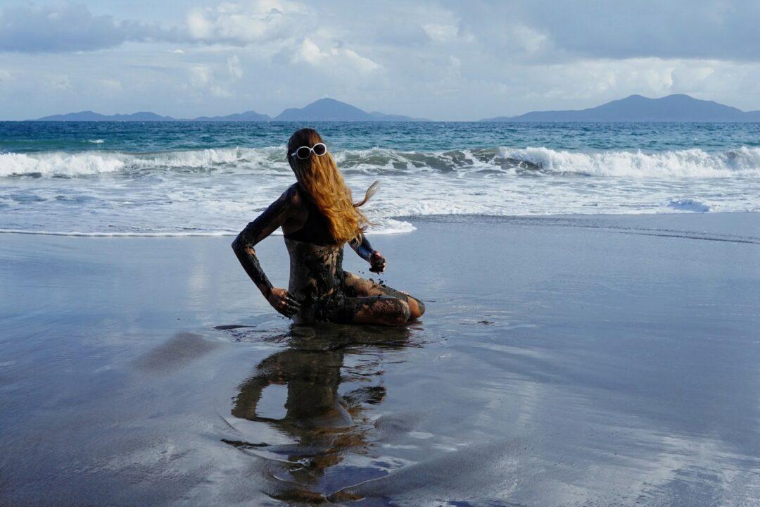 Le peeling de Choubaka à la plage de Grande Anse à Trois-Rivières