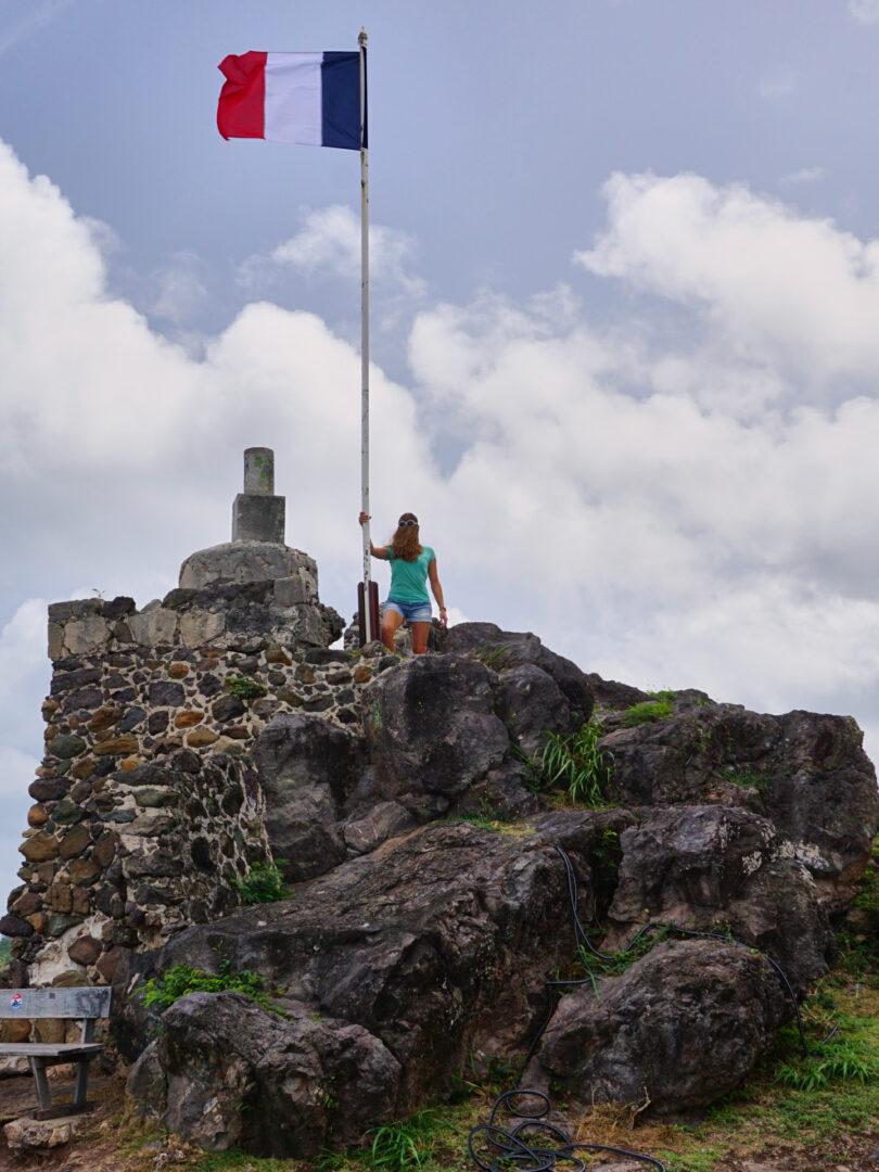 Choubaka au fort Louis à Marigot
