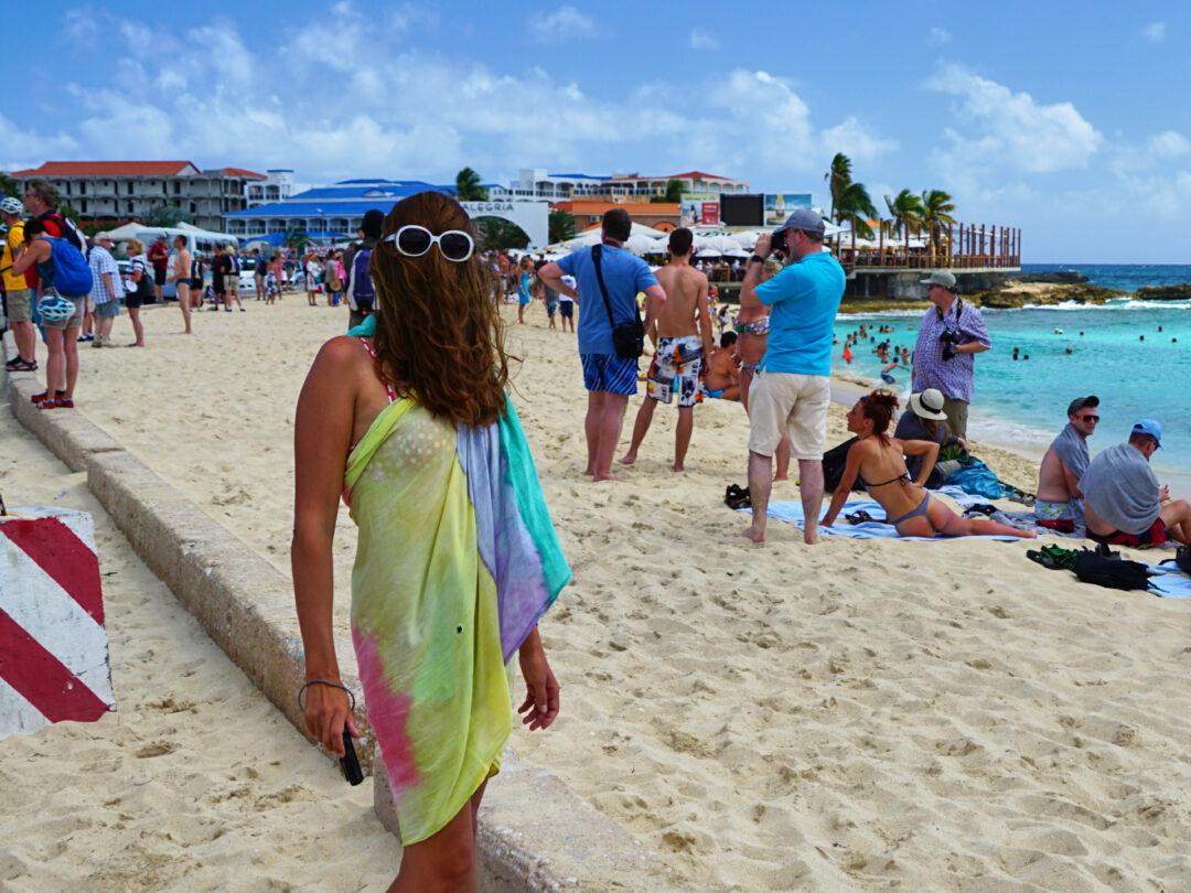 Choubaka à Maho Beach