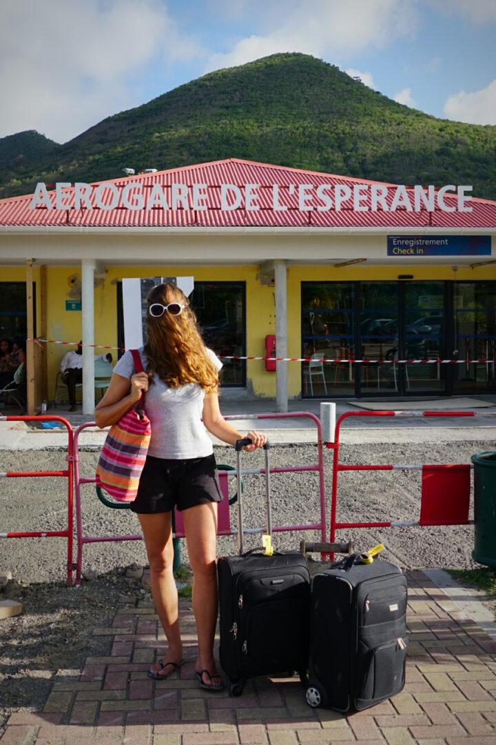 Choubaka à l'aéroport régional de Grand-Case