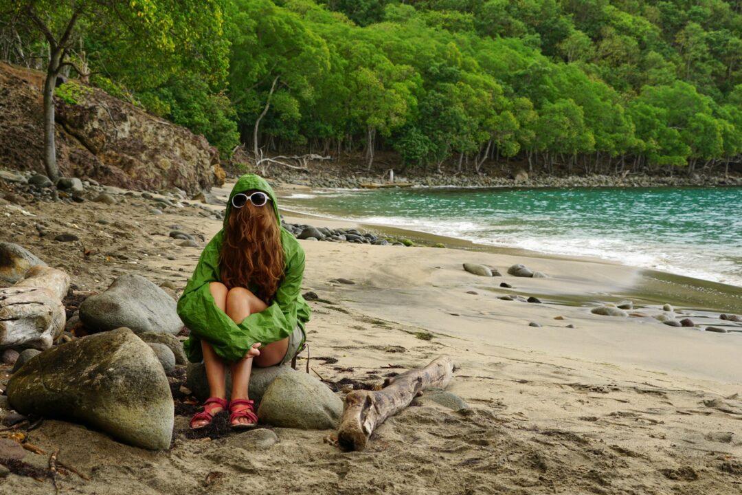 Choubaka à la plage de l'anse Crawen