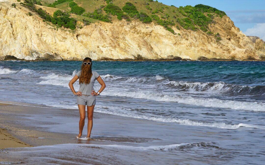 Choubaka sur la plage de Grande Anse