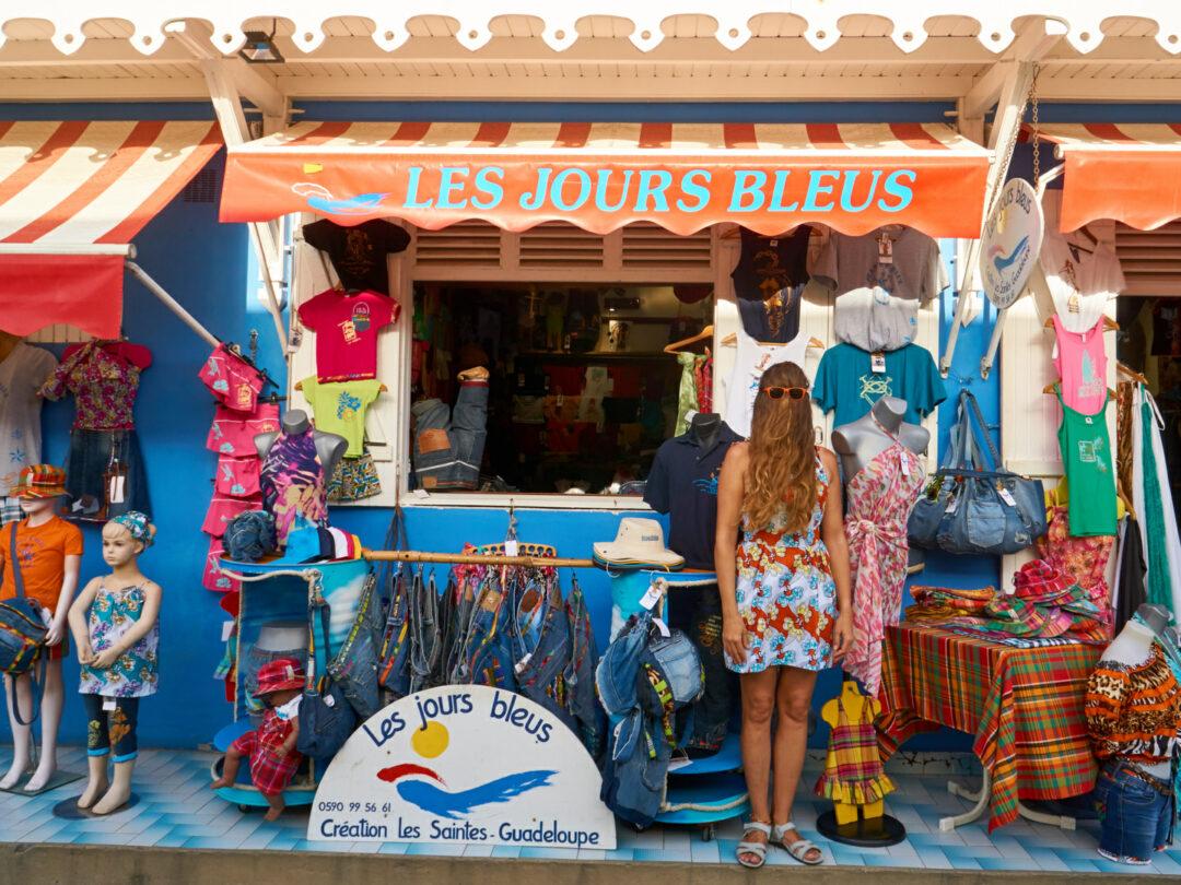 Choubaka à la boutique Les jours bleus